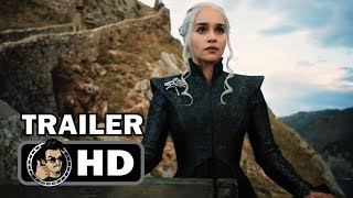 GAME OF THRONES Official SDCC Season 7 Trailer (HD) Emilia Clarke HBO Series SUBSCRIBE for more TV Trailers HERE: https://goo.gl/TL21HZ Check out our most po...