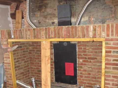 Comment construire chemin e brique la r ponse est sur for Construire un conduit de cheminee