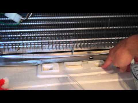 How to fix a leaking refrigerator – frozen defrost drain tube