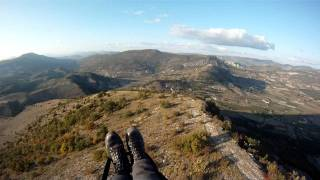Buc France  city pictures gallery : Paragliding Sederon Buc France Oct 2011.avi