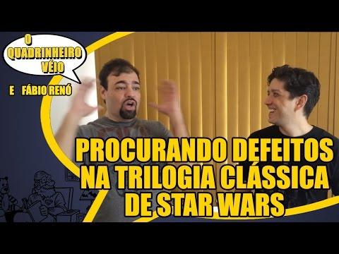 Procurando Defeitos na Trilogia Clássica de Star Wars