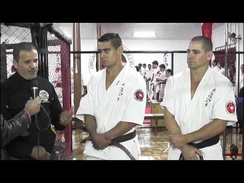 Entrevista sobre o exame de graduação de Muay Thai em Três Barras