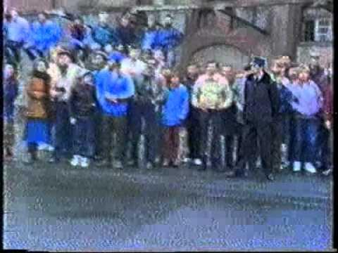 Rajd ELMOT 1986 Wałbrzych odcinek uliczny Marian Bublewicz