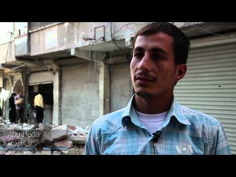 Residents of War-Battered Aleppo Struggle to Survive