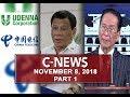 News (November 8, 2018) PART 1