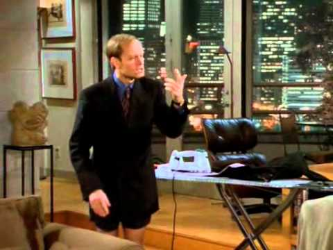 Slapstick - Frasier: Three Valentines - A Valentine for Niles. Great slapstick comedy. Perfect timing, great acting. Music: Marriage of Figaro, W.A. Mozart.