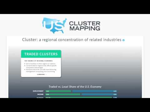 The Innovative and Useful U.S. Cluster Mapping Tool (Video ...