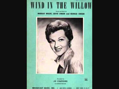 Tekst piosenki Jo Stafford - Wind In The Willow po polsku