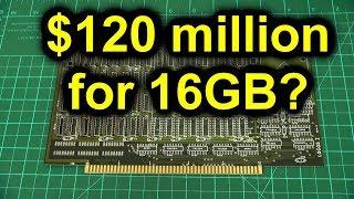 When memory cost $7,500,000 per gigabyte
