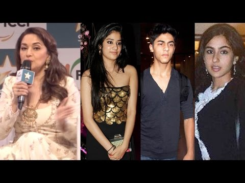 Madhuri Dixit SPEAKS UP About Star Kids Working In