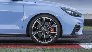 """THE HYUNDAI i30 N Review    The i30 N marks a new era for Hyundai Motor – introducing the first high-performance model under the N line-up, built to deliver exhilarating driving pleasure for everyone    N was born in Namyang and honed at the Nürburgring. The 'N' symbolises a chicane, the essence of Hyundai Motor's high-performance car development    High power: the four-cylinder 2.0-litre T-GDI turbo engine delivers up to 275 PS and 353 Nm torque with high responsiveness and linear power output    High-performance features: Electronic Limited Slip Differential, Electronic Controlled Suspension, Rev Matching, Launch Control, high-performance tyres, lap timer, and more    High level of customisation: five different drive modes, including the N and N Custom modes, offer a variety of different configurations from comfort-oriented daily commuting to race track performance    Emotional sound thanks to a variable exhaust valve system    True performance design: agressive front and rear bumpers with larger air intakes and red character line, aerodynamic rear spoiler with triangular brake light, dual muffler exhaust, 18- and 19-inch wheels, sport seats, Performance Blue exterior colour inspired by Hyundai MotorsportThe i30 N is Hyundai Motor's first high-performance car under the N line-up. Built on the New Generation i30, the i30 N has been developed from the ground up to deliver maximum driving pleasure in everyday life on the road, as well as on the track. N was born in Namyang, at Hyundai Motor's global R&D Centre in Korea and honed at the Nürburgring, one of the most challenging race tracks in the world and home of Hyundai's Testing Center. The N logo symbolises a chicane - the ultimate corner where the i30 N has been tested thoroughly and has proven its ability. The i30 N is inspired by Hyundai Motorsport's experience in WRC since 2014.""""The Hyundai i30 N has been developed for no other purpose than to deliver maximum driving fun to our customers in an accessible high-p"""