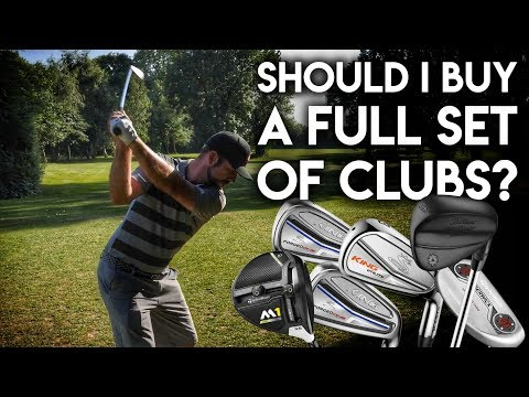 Should I buy a full set of golf clubs? The Six Club Challenge