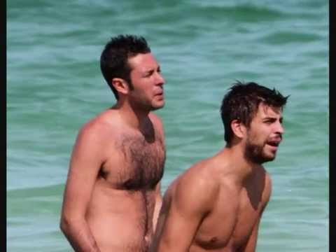 Gerard Piqué And Man In Water