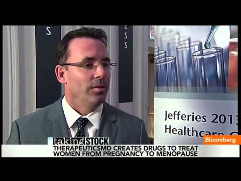TherapeuticsMD CEO Robert Finizio discusses Hormone Replacement Therapy on Bloomberg Television