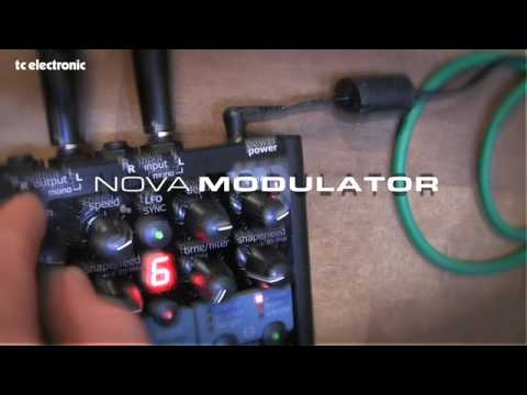 TC Electronic Nova Modulator as a bass pedal!