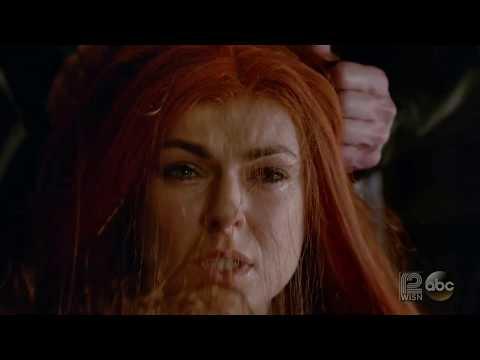 Maximus Cutting Medusa's Hair -INHUMANS