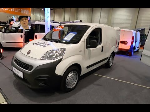 FIAT FIORINO SX SERIES 1 TRANSPORTER PROFESSIONAL CARGO VAN BUS WALKAROUND AND INTERIOR