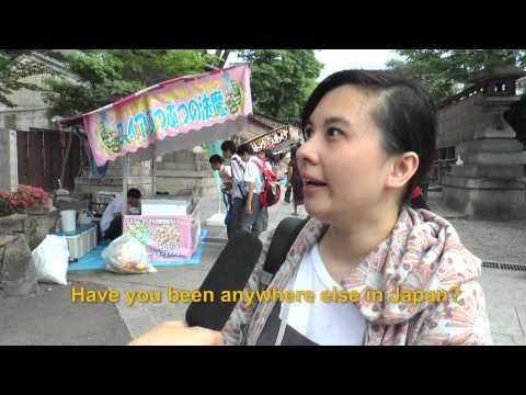 Travelers' Voice of Kyoto:FUSHIMI INARI Area Interview 002