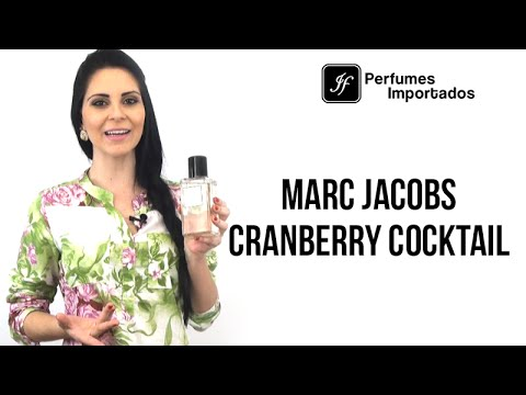 Perfume Marc Jacobs Cranberry Cocktail Feminino - Eau de Toilette
