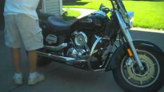 7. Yamaha V-Star 1100 Silverado - Cobra Slip-On Slashcut Exhaust