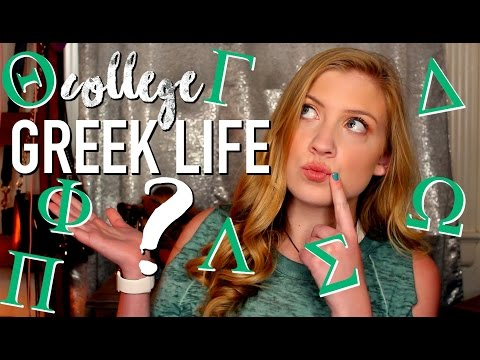 Greek Life Q+a // Hazing, Rush Tips, And More! • Lottie Smalley