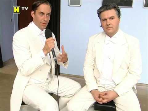 Comedian Harmonists Today - Fernsehbericht anlässlich des Trierer Theater-Sommers 2009 mit Ausschnitten unserer Auftritte und einem Interview