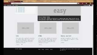 WordPress Development Tutorials - Pt 8: HTML CSS To Theme