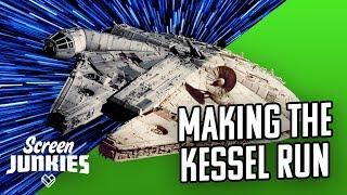 Star Wars VFX Breakdown - Making The Kessel Run by Screen Junkies