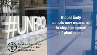 Global body adopts new measures to stop the spread of plant pests