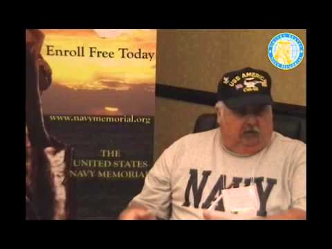 USNM Interview of Donald Richardson Part One Joining the Navy and Service on the USS America