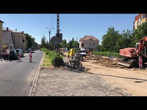 Wideo1: Kolejne utrudnienia na Lipowej w Lesznie