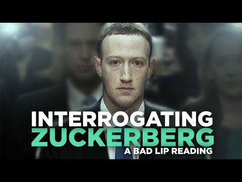 The Bad Lip Reading Of Mark Zuckerberg's Congressional Hearing Is My New Favourite Thing