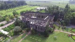 Bacolod (Negros Occidenta Philippines  City new picture : The Ruins - Talisay City, Negros Occidental, Philippines - Aerial View