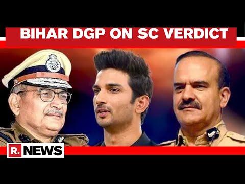 Sushant Death Case: Bihar DGP Speaks To Arnab On SC's Order For CBI Probe