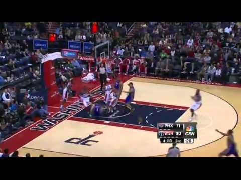 John Wall Nasty Block on Goran Dragic