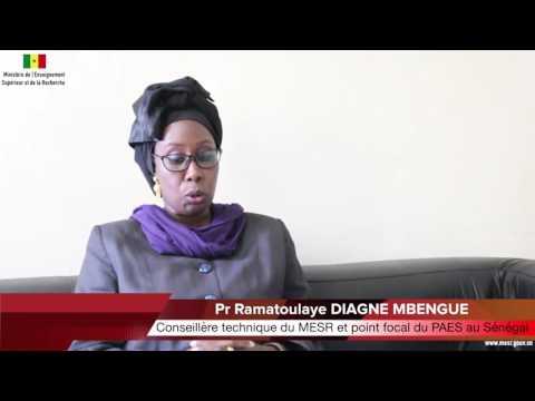 [Vidéo] - Projet d'Appui à l'Enseignement Supérieur PAES - Entretien avec le Pr Ramatoulaye Diagne Mbengue