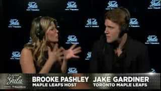 /Jake Gardiner talks to Brooke at Players' Gala presented by BlackBer