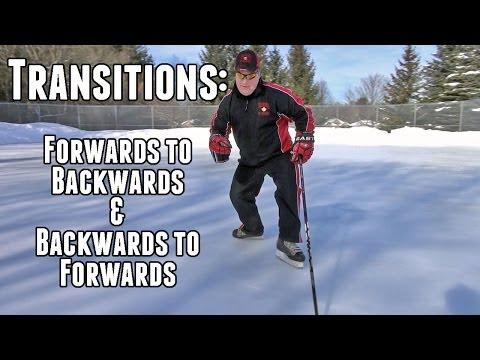 Proper Forwards and Backwards Transitions – Hockey Skating Episode 9
