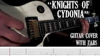 Knights of Cydonia - Muse - Guitar Cover with Tabs