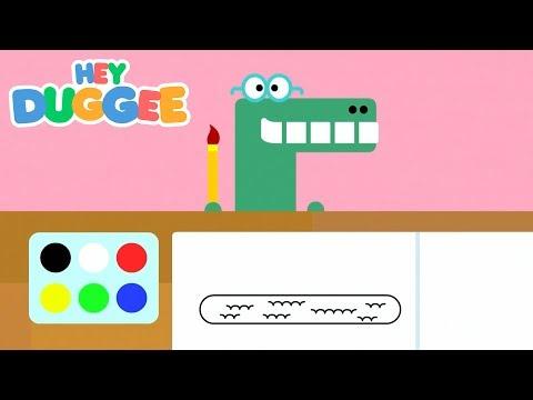 The Colour Badge - Hey Duggee Series 2 - Hey Duggee видео
