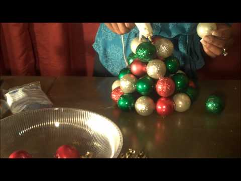 Making an Ornament Tree