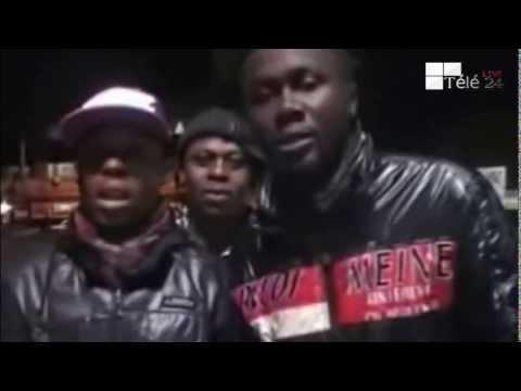 TÉLÉ 24 LIVE: Les Combattants d'afrique du Sud en colère contre CÉSAR NGADI et ANDERSON
