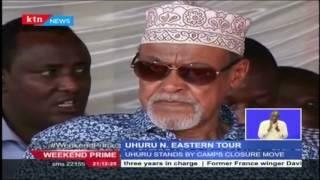 Uhuru And Ruto Hold Talks With North Eastern Leaders