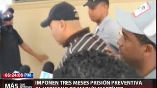 Imponen tres meses de prisión preventiva al hermano de Marlín Martínez