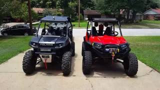 1. My Rzr 800 VS Rzr 800 s Comparison