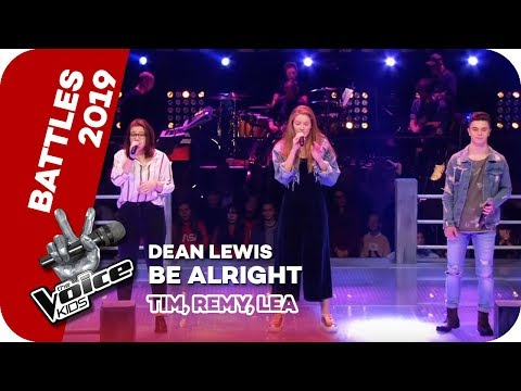 Dean Lewis - Be Alright (Tim, Remy, Lea) | Battles | The Voice Kids 2019 | SAT.1
