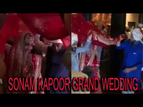 LIVE:   INSIDE VIDEO | SONAM KAPOOR GRAND WEDDING