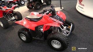 7. 2015 Honda TRX 90X Sport ATV - Walkaround - 2014 Toronto Snowmobile & ATV Show