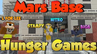 Mars Base Hunger Games - StampyLongHead & L for Leeeeee x Nitro's ShowDown - Minecraft Xbox
