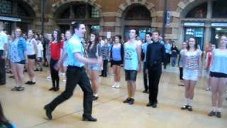 Sydney Irish Dancing Flash Mob 2011